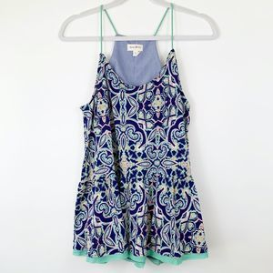 Anthropologie Meadow Rue Paisley Cami Tank Top M